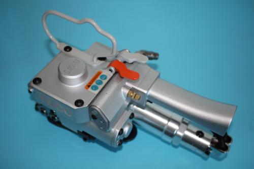 广东气动免扣式打包机,贵州AQD-19手提式气动包装机
