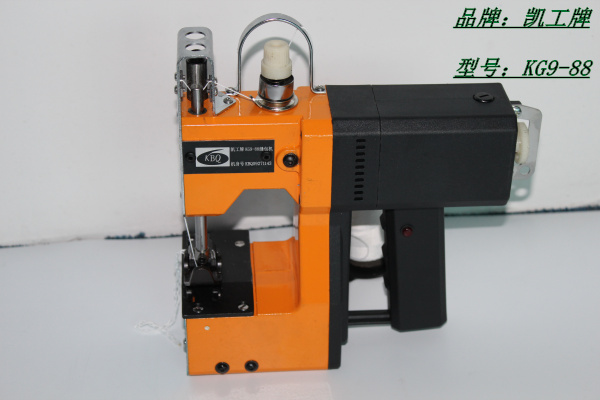 Kg9-88单线手提缝包机,可缝制多种袋料,性能稳定可靠