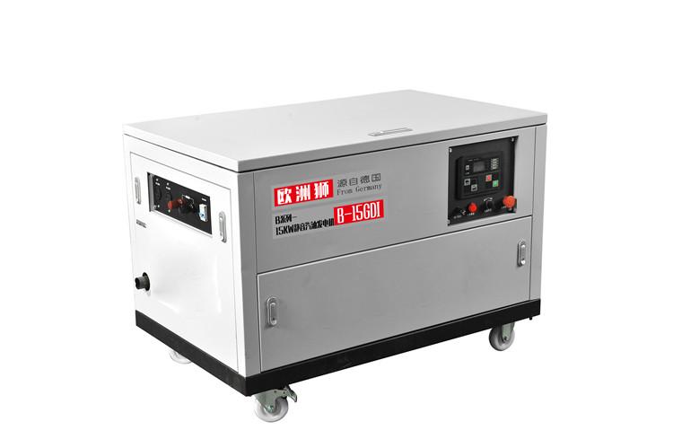 四缸15千瓦汽油发电机380V