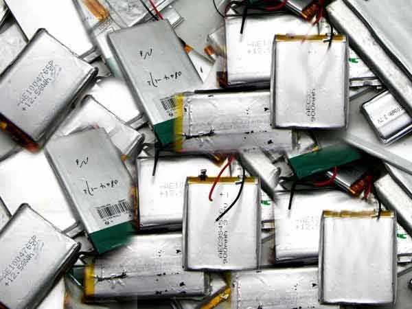回收废旧电池手机电池平板电池