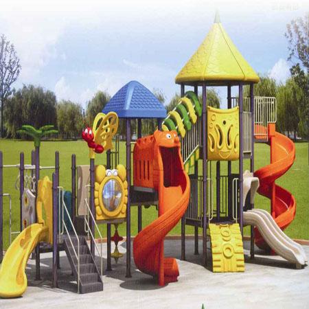 石家庄幼儿园滑梯高清图片 高清大图