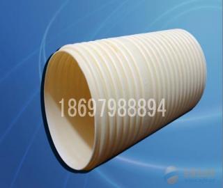 广西南宁联塑pe双壁波纹管排水管