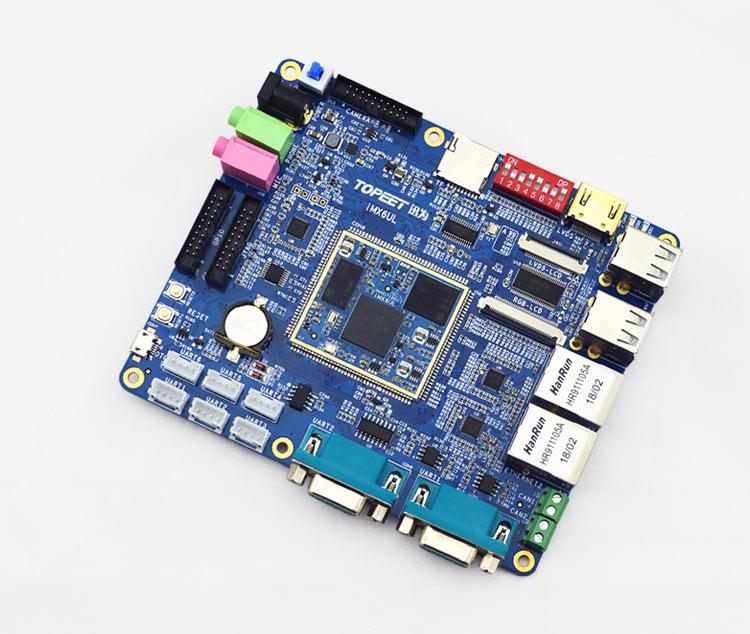 迅为imx6ul开发板多路串口开发平台产品图片高清大图