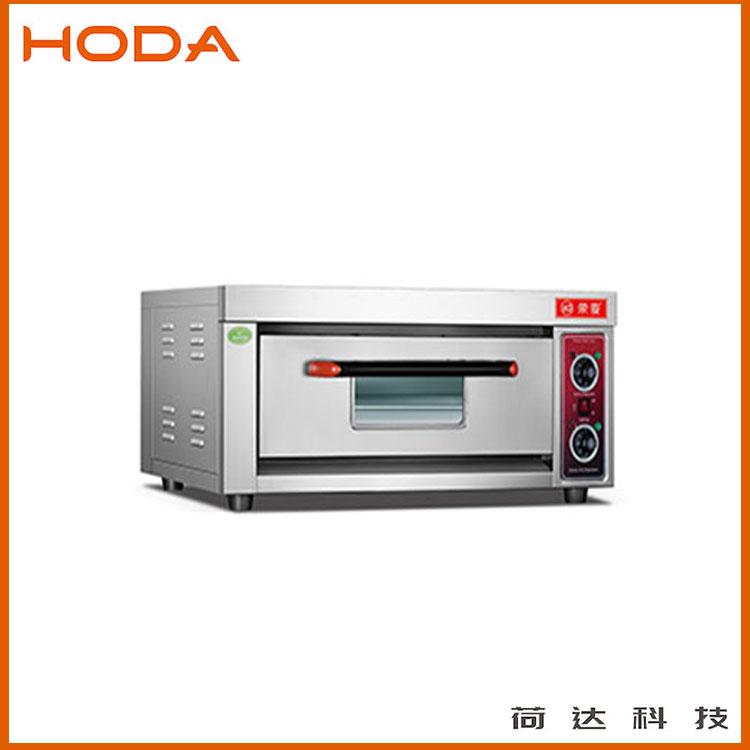 厂家直销1层1盘电烤箱 荷达专用烘烤箱