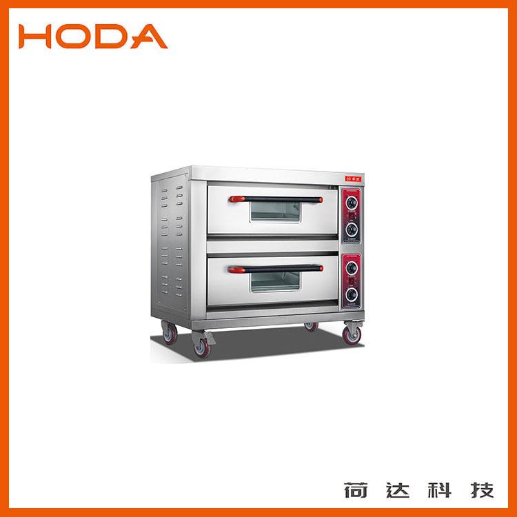 厂家供应2层2盘商用烤箱 荷达专用电烤箱