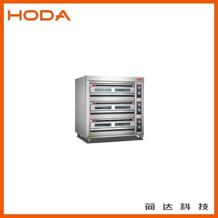 厂家直销3层9盘商用烤箱 蛋糕店专用荷达烘烤箱