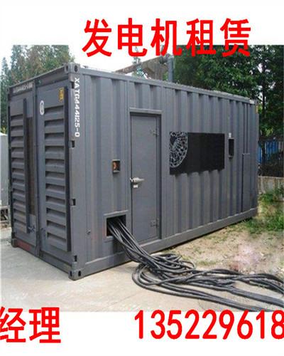 城子河大型发电机出租,供应商13522961858