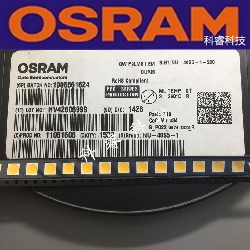 GW P9LMS1.EM-NSPP-40S5 欧司朗COB LED光源4W5W 20v 5050白色光