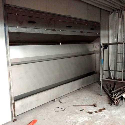 环保型水旋式喷漆除尘柜高清大图