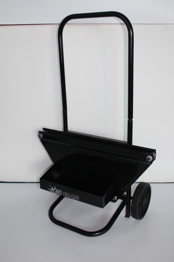 铁皮打包带通用车 钢带通用型小推车 带盘车